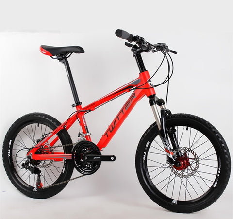 Children's Bicycle MTB Mountain Bike 20inch 21 Speed Aluminum Alloy Frame Gear Shift For Shimano Disc Brake Bicycle BMX