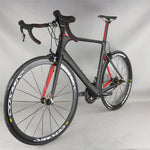 Hight ModulusToray T700 Carbon Fiber Aero road bike complete bike FM268 with SHIMAN00  R7000 groupset 22 speed