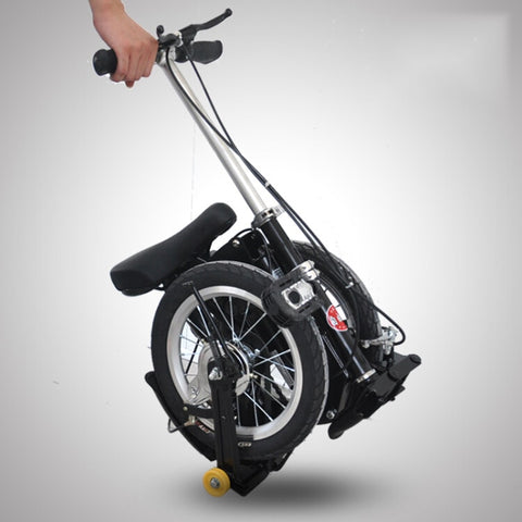 Factory Direct Sale 14-inch Folding Mini Folding Bike Portable Foldable  Bicycle for Adult Children Cycling Great Gift