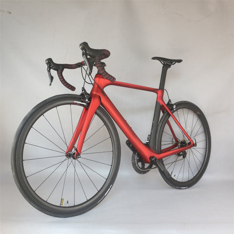 Seraph custom paint 50.5/53.5/56.5cm Aero carbon road complete bike FM268 with SHIMAN00 R8000 groupset