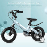 Boy Bikes 2-8 Years Old Child Bike Blue Bicycle Child's Gift Magnesium Alloy Material Bicycle For Kids bicicleta  Kids' Bike