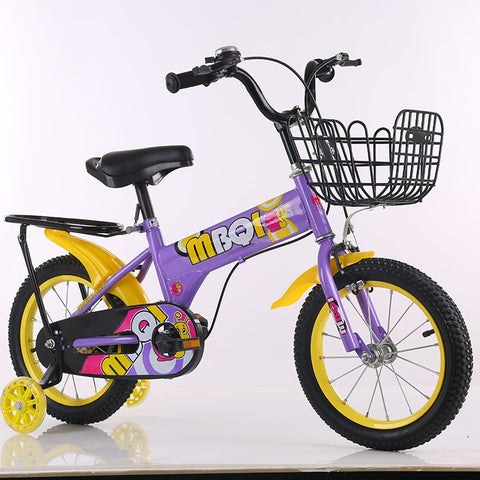 Children bicycle 12-18 inch children training bike Outdoor quality road bike with auxiliary wheels