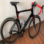 Black Red Colnago Concept Complete Road Bike full Bicycle with XXS/XS/S/M/L/XL R8010 Groupset for selection