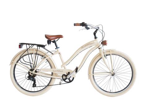 Bike Via Veneto VV790L CRUISER-aluminum frame, 6 gears, Model Woman