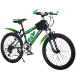 Manufacturers Supply High-End 20-Inch Absorption Mountain Variable Speed Bicycles Children's Mountain Bike Student Bicycles