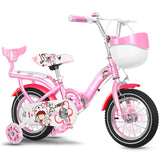14 Inch Children's Bicycle Girl Baby Stroller Baby Bicycle 3-5 Years Old Boy Girl Folding Bike Bicycle