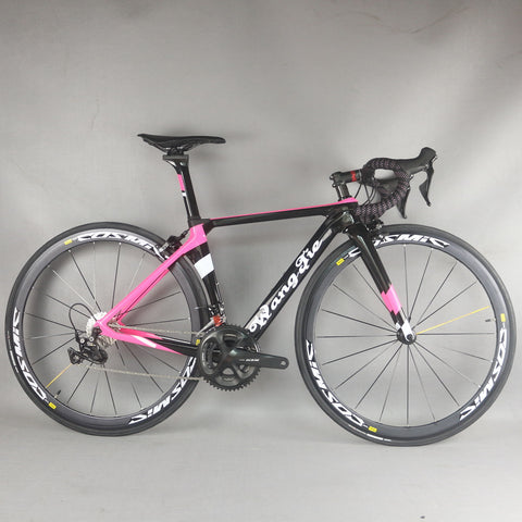 Full carbon aero road complete bike TT-X1 22 speed custom paint and logo Aluminium wheel with  SHIAMNO0 R7000