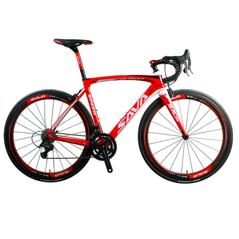 SAVA Carbon Road bike Road Bicycle 700c Carbon Bike Herd 9.0 Cycling Speed Road Bike 22 Speed bicycle Full carbon Frame/wheelset