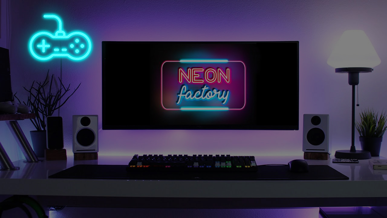 Controller Monitor deco lights