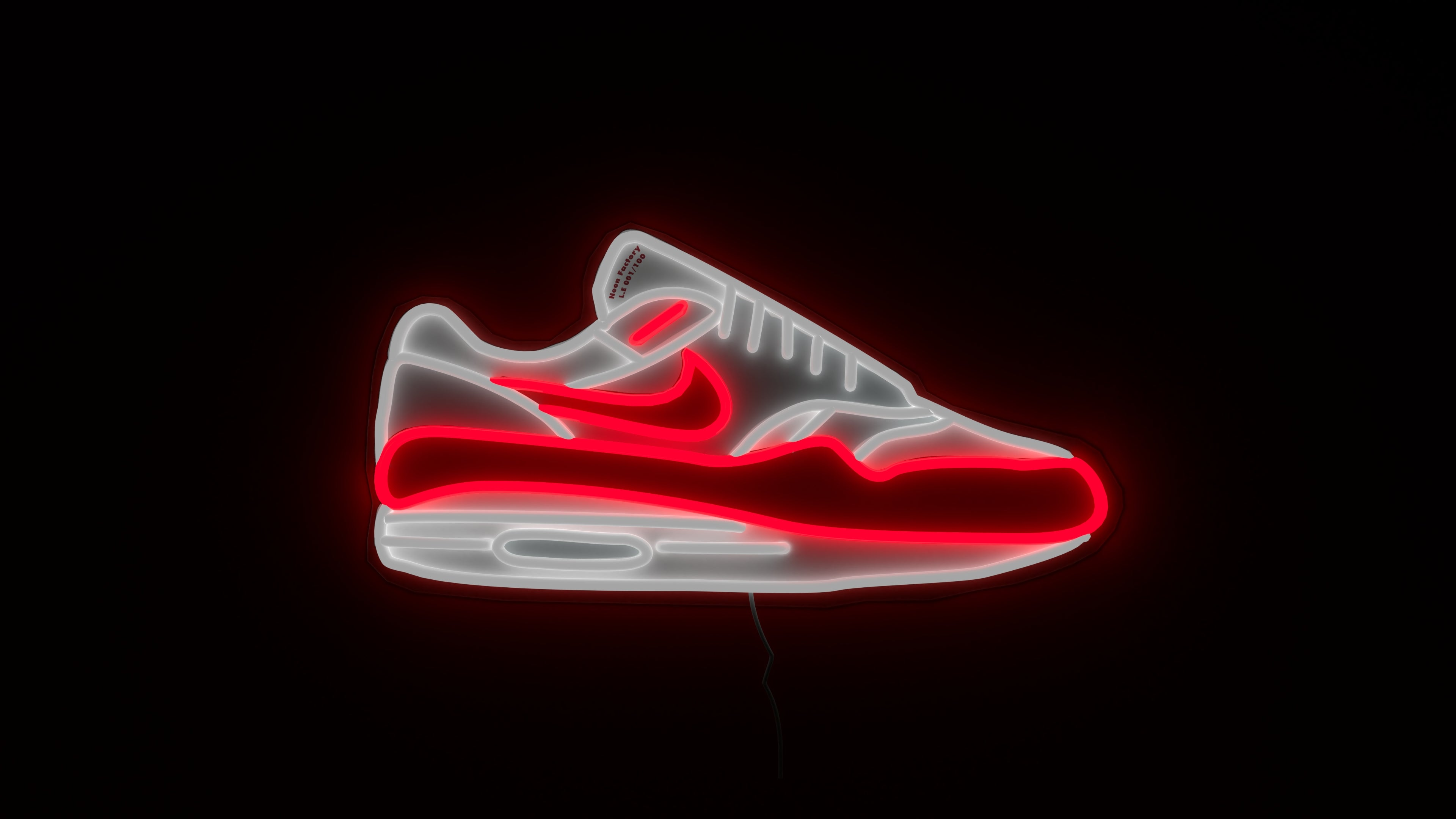 airmax 1 neon sign limited edition