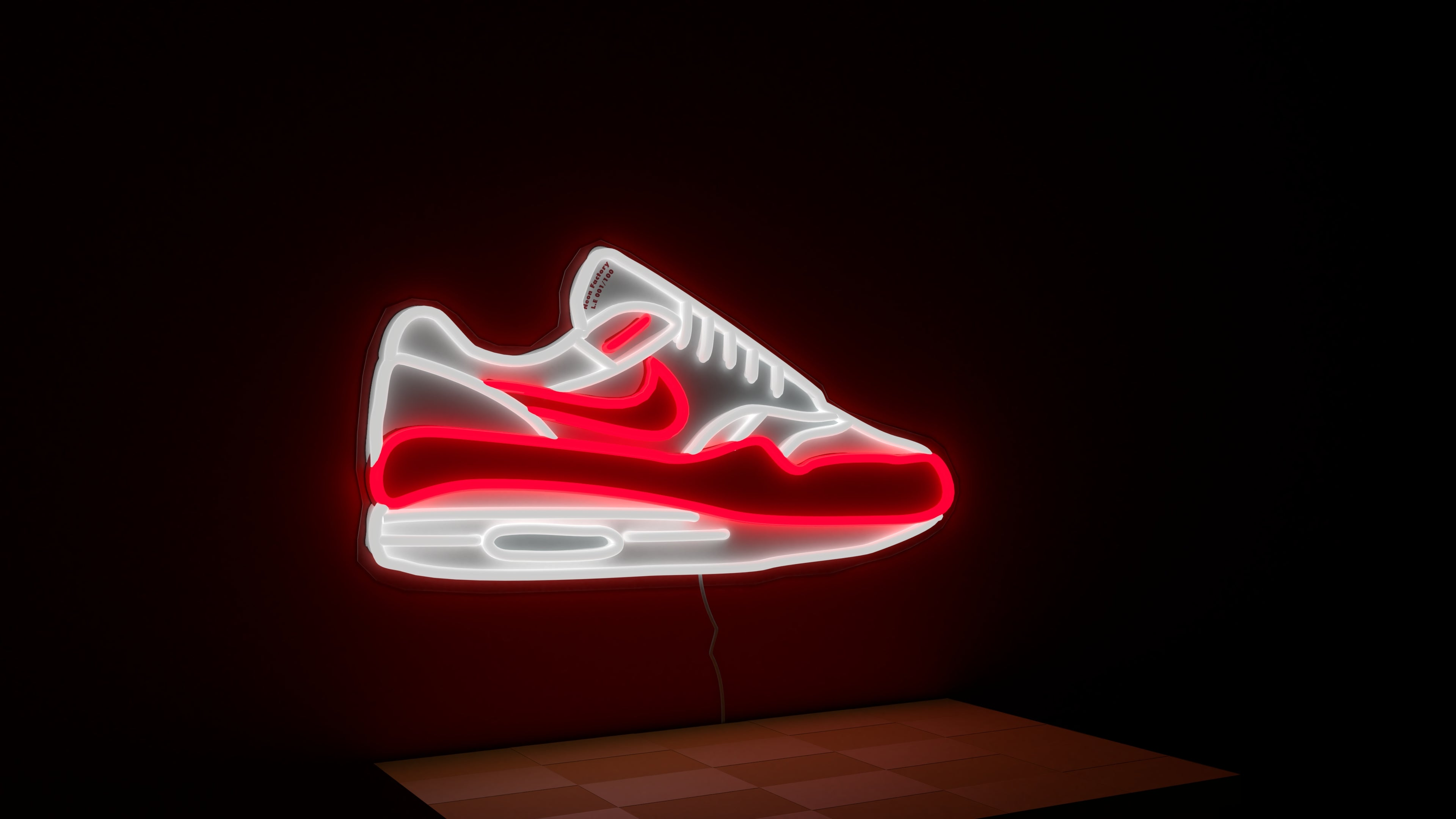 Airmax 1 neon sign