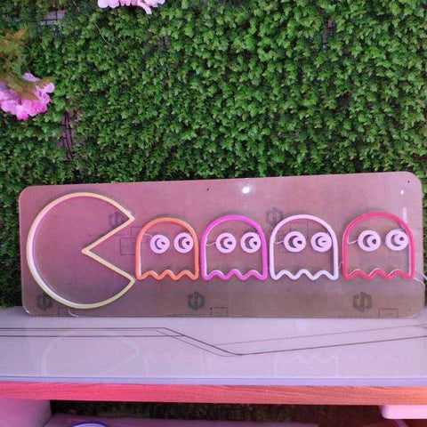 Pacman led sign