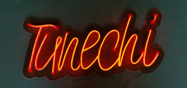 tunechi led neon wall sign