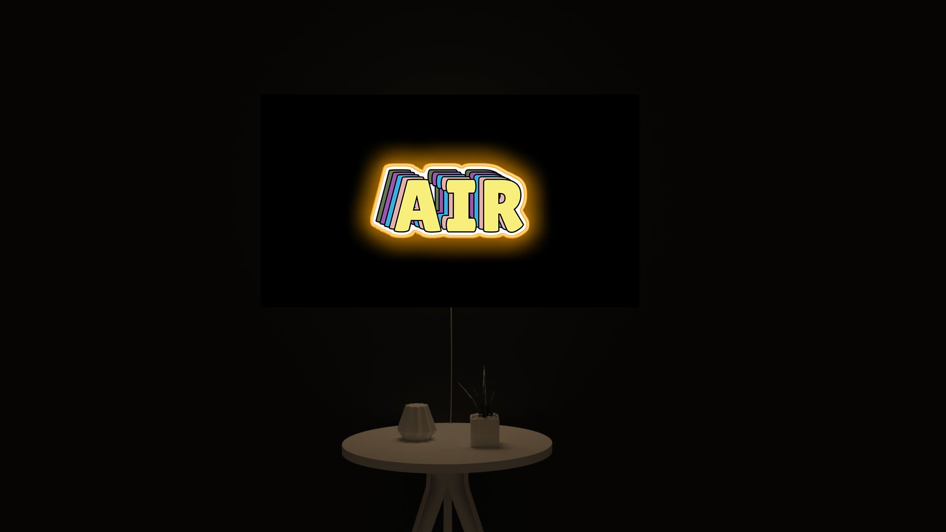 AIR SW Lookalike led light sign