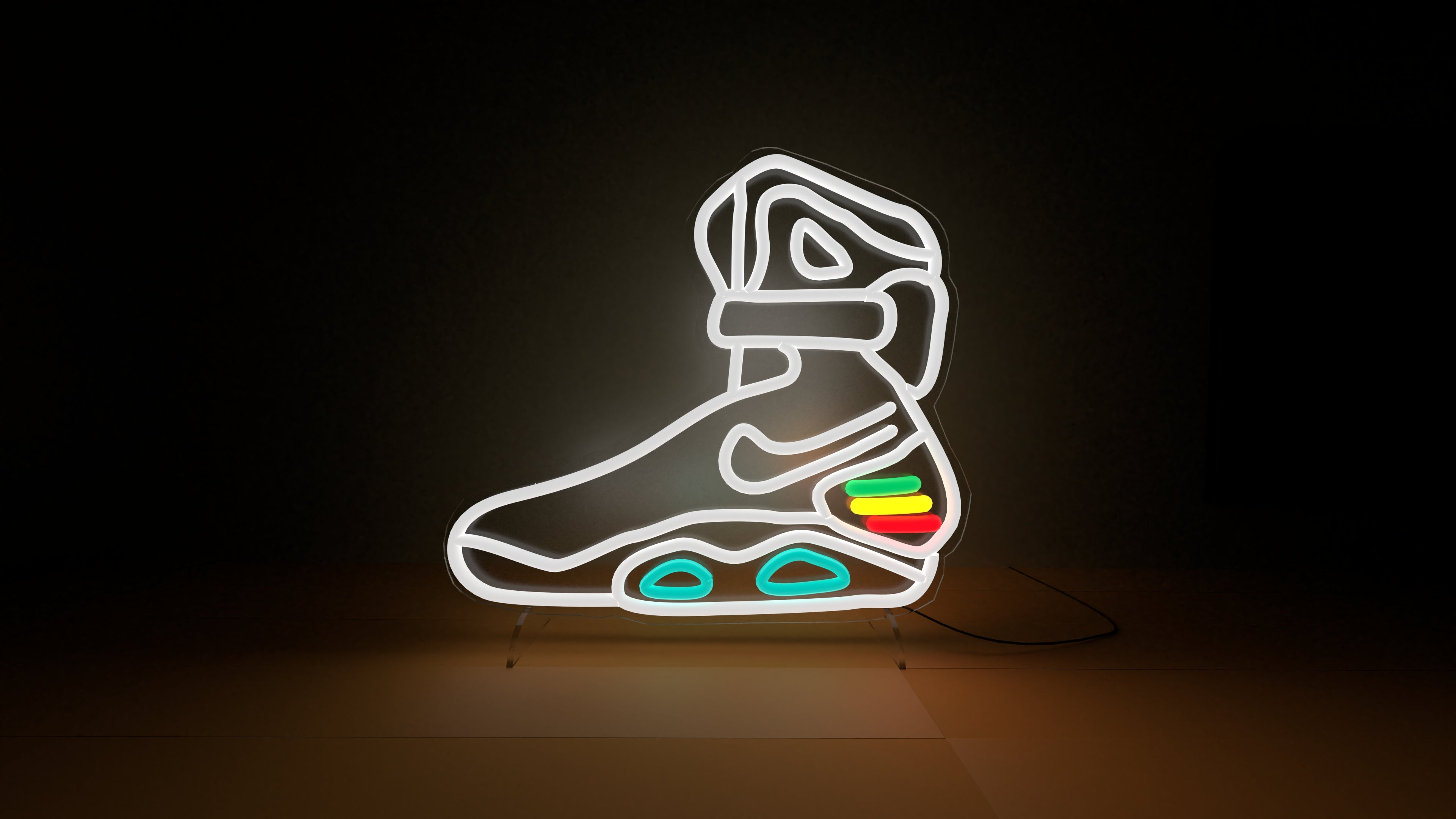 Back to the futur neon sign