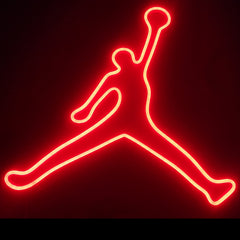 jumpman neon sign for sale
