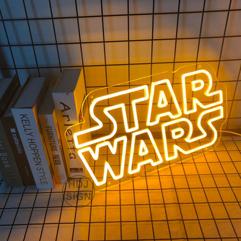 Starwars neon sign for sale