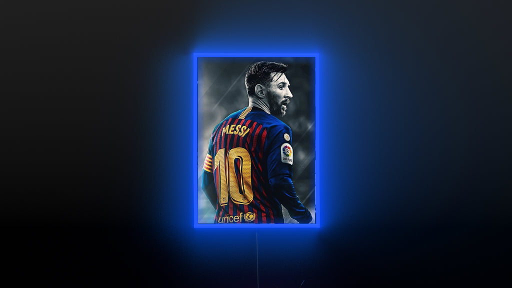 Messi neon sign for sale