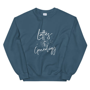 Lattes & Genealogy  Sweatshirt