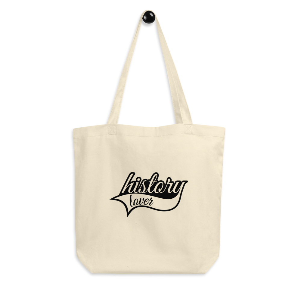 """History Lover"" tote bag"