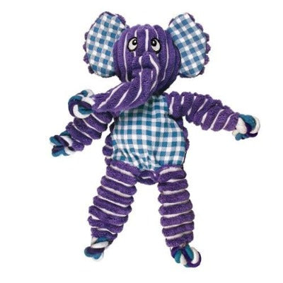The KONG Floppy Knots Elephant is both soft, tough and highly durable..  A great addition to Monty's Dog Store. KONG toys are virtually indestructible, and are designed for determined chewers. KONG has been setting the standard of dog toys for 40 years.