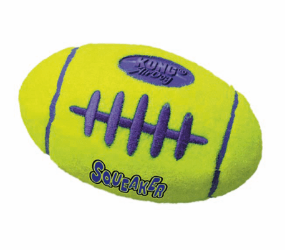 kong air squeaker football | air squeaker football | kong air football | kong ball | indestructible dog toys | virtually indestructible | tough dog toys UK | designed for determine chewers | eco friendly dog toys | monty's dog store |
