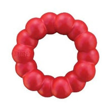 Load image into Gallery viewer, KONG Ring Dog Toy | kong ring | designed for determined chewers | eco friendly | eco friendly dog toys | tough dog toys UK | Monty's Dog Store |