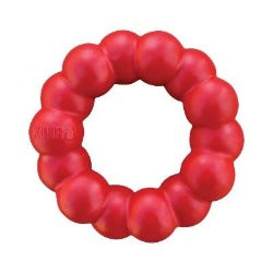 KONG Ring Dog Toy | kong ring | designed for determined chewers | eco friendly | eco friendly dog toys | tough dog toys UK | Monty's Dog Store |