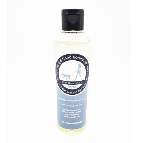 Soothing & Conditioning Shampoo - Oatmeal & Aloe Vera | Monty's Dog Store | 100% Natural ingredients | natural dog shampoo | oatmeal dog shampoo | best dog shampoo | dog store warrington | pet shops warrington | dog stores warrington | dog grooming products | dog grooming |