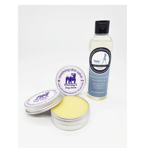 Soothing & Conditioning Shampoo - Oatmeal & Aloe Vera with Soothing Skin Salve
