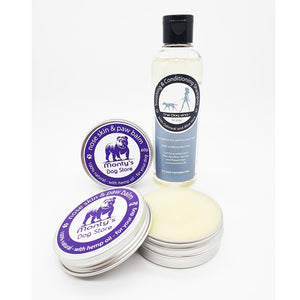 Soothing & Conditioning Shampoo - Oatmeal & Aloe Vera with natural nose skin & paw balm