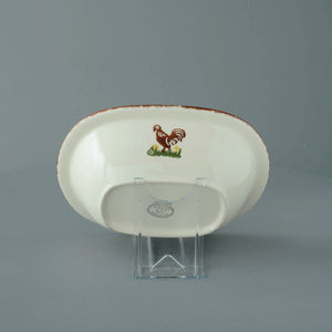 Cock and Hen Pie Dish