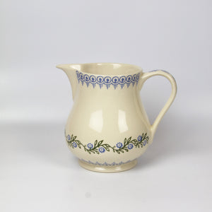 Brixton Pottery Floral Garland Medium Jug