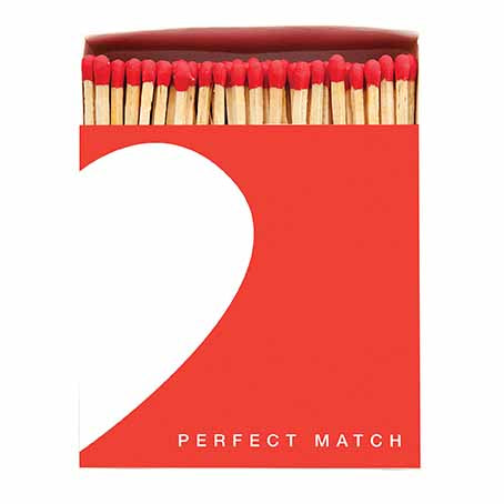 'White Heart' - Luxury Matches
