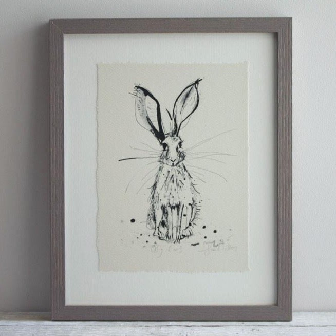 Big Ears Framed Print