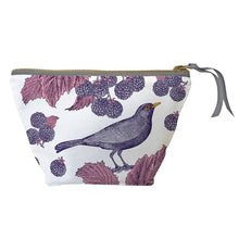 Load image into Gallery viewer, Small Blackbird & Bramble Cosmetic Bag