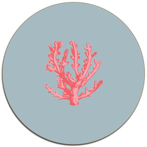 Coral Placemats - Set of 4
