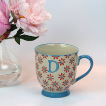 Load image into Gallery viewer, Bohemian Letter 'D' Mug