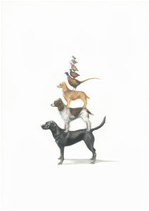 Dog Stack - (Limited Edition of 100) Killy & Co