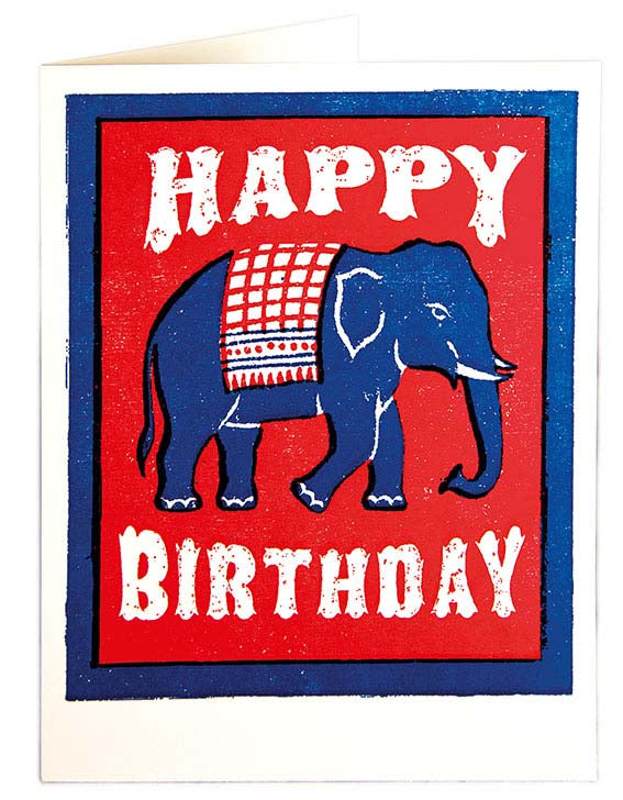 Elephant - Happy Birthday