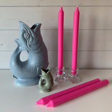 Load image into Gallery viewer, Hot Pink Candles - Set of Four