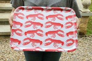 Large Lobster Design Tray