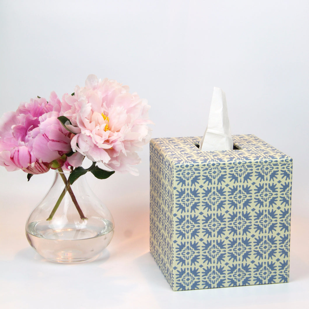 Tissue Cover Box - Pale Blue