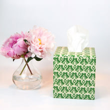 Load image into Gallery viewer, Tissue Box Cover - Green Sprig