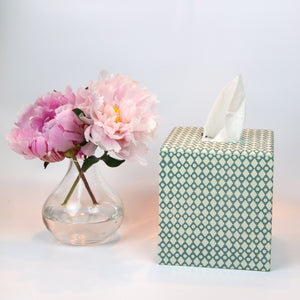 Tissue Box Cover - Teal