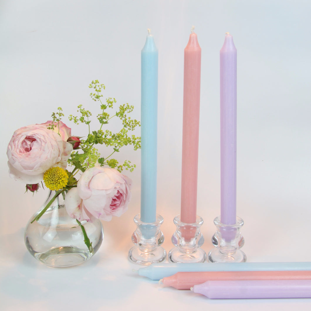 Pretty Pastels - Set of 6 Candles