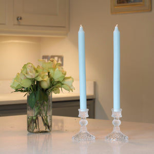 Nova Glass Candlestick - Clear (Stock Due In May)