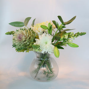 Sienna Glass Vase - Clear