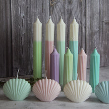 Load image into Gallery viewer, Scallop  Shell Candle - Pistachio