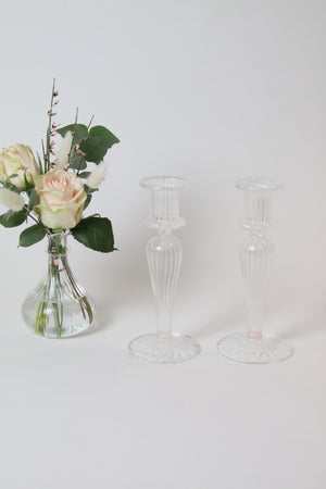 Gracie Candlestick - Clear